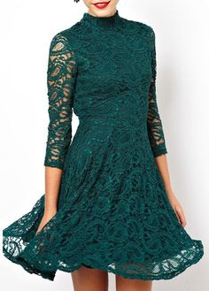 Open Back Three Quarter Sleeve Dress | Rosewe.com