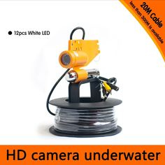 112.66$  Buy now - http://aliams.worldwells.pw/go.php?t=32699501128 - Free Shipping 20Meter Depth Underwater Camera with Single Lead Rode for Fish Finder & Diving Camera Application 112.66$