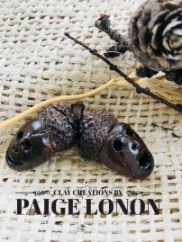 Acorns – Clay Creations by Paige