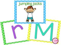 Help students with letter fluency and get them moving!