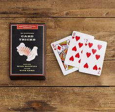 Do you want to make your family and friends fascinated by your enthralling magic trick performance? You could fulfill your wish by acquiring easy card magic tricks. As magic tricks are the most enticing skill that people dream to Magic Tricks Revealed, Easy Magic Tricks, Learn Card Tricks, Magic Illusions, Sleight Of Hand, Cool Cards, The Magicians, Card Games, Gift Guide