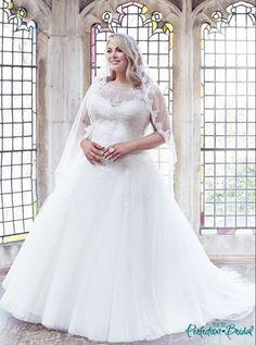 Plus Size Wedding Dresses the Anastasia Wedding Gown