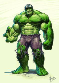 #Hulk #Fan #Art. (Dale Keown's HULK Colored) By: RawSunlight. ÅWESOMENESS!!!™ ÅÅÅ+
