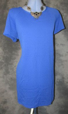 Debenhams,ladies,size18,blue,scoop neck,short sleeved,,no pattern,business,Dress