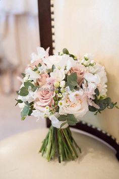 Bouquet Flowers Bride Bridal Pink Rose Beautiful Country House Wedding www.fionaswedding... #weddings #wedding #marriage #weddingdress #weddinggown #ballgowns #ladies #woman #women #beautifuldress #newlyweds #proposal #shopping #engagement