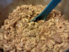 Simply Filling Cookbook: Texas Trail Beef Macaroni