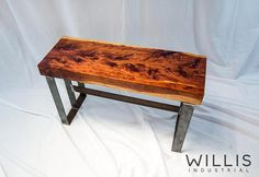 Live edge Cedar Slab Epoxy Table - With Steel I Beam Legs Rustic Industrial, Modern Rustic, Epoxy, Modern Furniture, Furniture Design, I Beam, Slab Table, Small Coffee Table, Wood Steel
