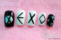 EXO nail art 엑소 네일아트
