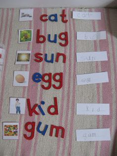"""""""Making Montessori Ours"""": Pink Series Spelling"""