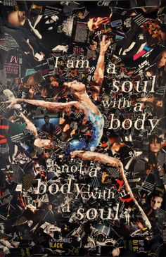 "Cedric Cha's paper collage ""I Am A Soul"", inspired by the work of Derek Gores, was selected as one of the top 10 pieces in the Nando's Peri-fy Your Art Competition, a national art competition for young artists."