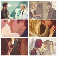 The Amazing Spider-Man quotes and pictures: Emma/Andrew and Gwen/Peter