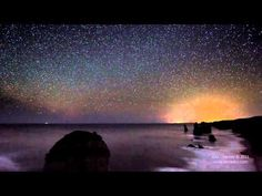 An amateur astronomer Alex Cherney, put together an awesome time-lapse video of the Australian night sky over the ocean. The clip includes 30 hours of exposure (don't worry, it's condensed down into two minutes and 41 seconds), which took over one year to compile.
