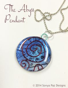 The Abyss Pendant - On sale now! www.sonyapaz.com