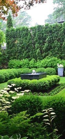 Formal garden and landscaping #GardeningandLandscape