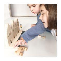 Casitas ChinPum.Juguetes de madera para jugar y decorar. www.chinpum.eu
