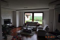 Salon projektu Julka #dom #wnętrze #projekt