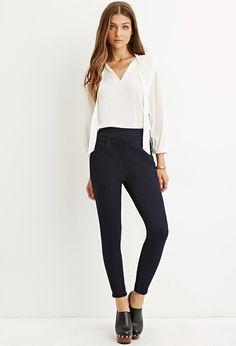 High-Waisted Girlfriend Jeans