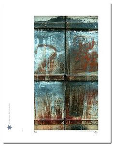 Us & Them   Us & Them Us & Them is an abstract photograph of rusting metal. Technical Information: This is a limited edition photograph produced on Epson Premium Presentation Fine Art Matte Media using an archival pigment. Each photograph is produced, signed and numbered by the artist. Only one hundred or fewer prints are produced in each series. Prints are delivered in a crystal clear presentation sleeve supported with a white backing board. On 8.5 x 11 media the printed image is 5 ..