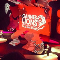 On stage at #CannesLions