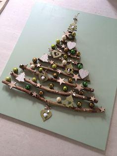 weihnachtsbaum aus sten weihnachten deko baum ste diy selber machen natur zuk nftige. Black Bedroom Furniture Sets. Home Design Ideas