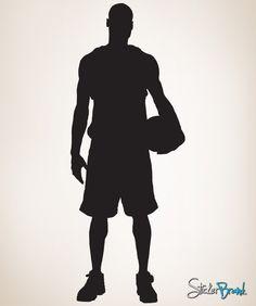 Vinyl Wall Decal Sticker Basketball Player Baller #338
