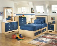 Kids Bedroom Designing Project with Consider All Aspects | drawhome.com