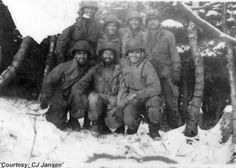 101st Paratroopers at Bastogne.