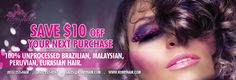 Save $10 on your next purchase at kerryhair