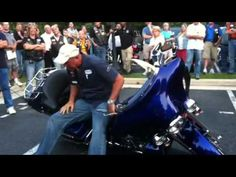 How to pick up a motorcycle by John Harris