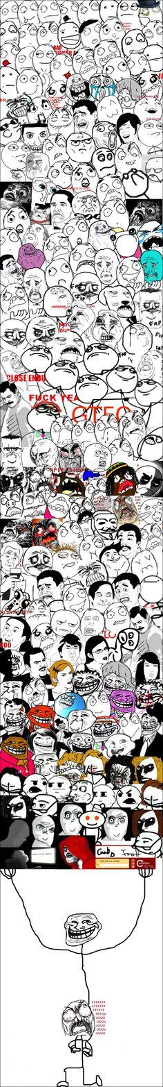 Memes por todos lados...