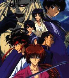 Samurai X (love the manga and the cartoon)