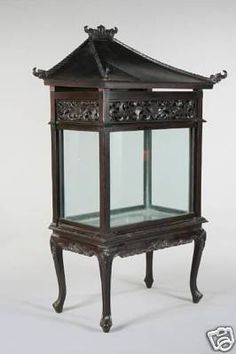 Antique Indonesian carved fish tank - gorgeous!!  Where can I find this?!?!?!