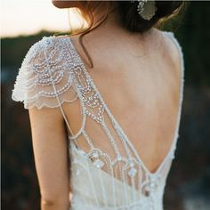 Two gorgeous gowns were used for this styled bridal shoot.