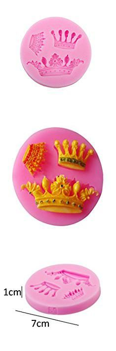 Cheap Cake Supplies. 1PCS Butterfly Shape Silicone Mold Lace Cake Molds Fondant Tools Cake Decorating Tools Silicone Chocolate Icing Border Sugar Mold (Crown).  #cheap #cake #supplies #cheapcake #cakesupplies