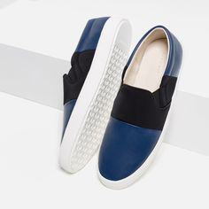 c90223c719ab3b Image 3 of SNEAKERS WITH STRIPE from Zara Stylish Shoes For Men