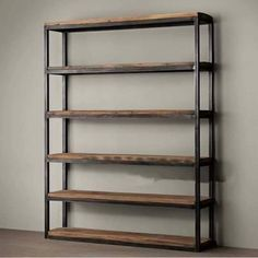 Online Shop American country to do the old wrought iron wood shelf bookcase disp - Shelf Bookcase - Ideas of Shelf Bookcase - Online Shop American country to do the old wrought iron wood shelf bookcase display 5 layer simple shoe storage cabinet bookcase Shelf Furniture, Furniture Logo, Metal Furniture, Unique Furniture, Industrial Furniture, Furniture Design, Industrial Bookshelf, Industrial Closet, Kitchen Furniture