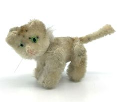 Schuco Noahs Ark Tiger Mohair Plush over Metal Jointed Vintage Antique Toys, Vintage Toys, White Dogs, Vintage Country, Plush Animals, Ark, Tigger, 1950s, Teddy Bear