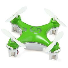 oneCase Cheerson CX10 29mm 4 Channel 24GHz Radio Control RC Mini Quadcopter Helicopter Drone 6Axis Gyro UFO with LED Flash Light  Green *** Learn more by visiting the image link.Note:It is affiliate link to Amazon.