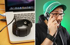 Check out this wearable gadget charger! Think a stylish hack is definitely in order. ;)