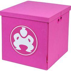 "Sumo Sumo Folding Furniture Cube - 14"" - Pink Trunk and Transport Organization #Sumo"