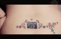 Výsledek obrázku pro camera tattoo