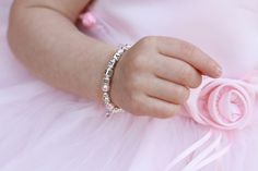 Baby Bracelets and Special Occasion Jewelry Christening Bracelets, Baby Pearls, Baby Bling, Baby Bracelet, Beautiful Gifts, Baby Boutique, Bling Jewelry, Heart Shapes, Special Occasion