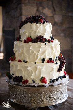 cake idea, decorating with fruit