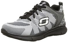 Flex Advantage 2.0, Chaussures de Running Homme, Noir (Black/White), 47.5 EUSkechers