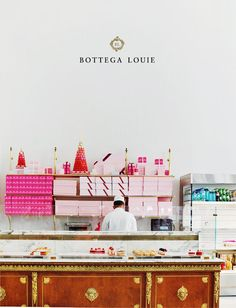 The Ultimate Treat in Los Angeles: Bottega Louie, right down the street from us at B&F Jewelry!