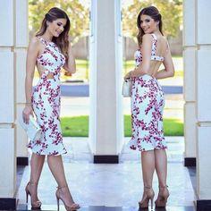 151487502 Vestidos para fiestas de día - Beauty and fashion ideas Fashion Trends