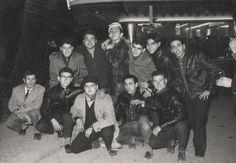 Gang boys. Spain, 50's