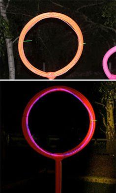 Glowing Foam Target with Glowing Rocket Launchers {Tutorial}