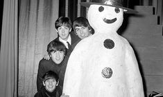 Beatles weirdest pics: 50 most bizarre photos of John Lennon, Paul McCartney, Ringo Starr and George Harrison from the archives - Mirror Online Liverpool, Paul Mccartney, Jane Asher, Christmas Shows, Christmas Stuff, Christmas Tree, Love Me Do, The Fab Four, Ringo Starr