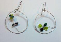 Earings with emanel